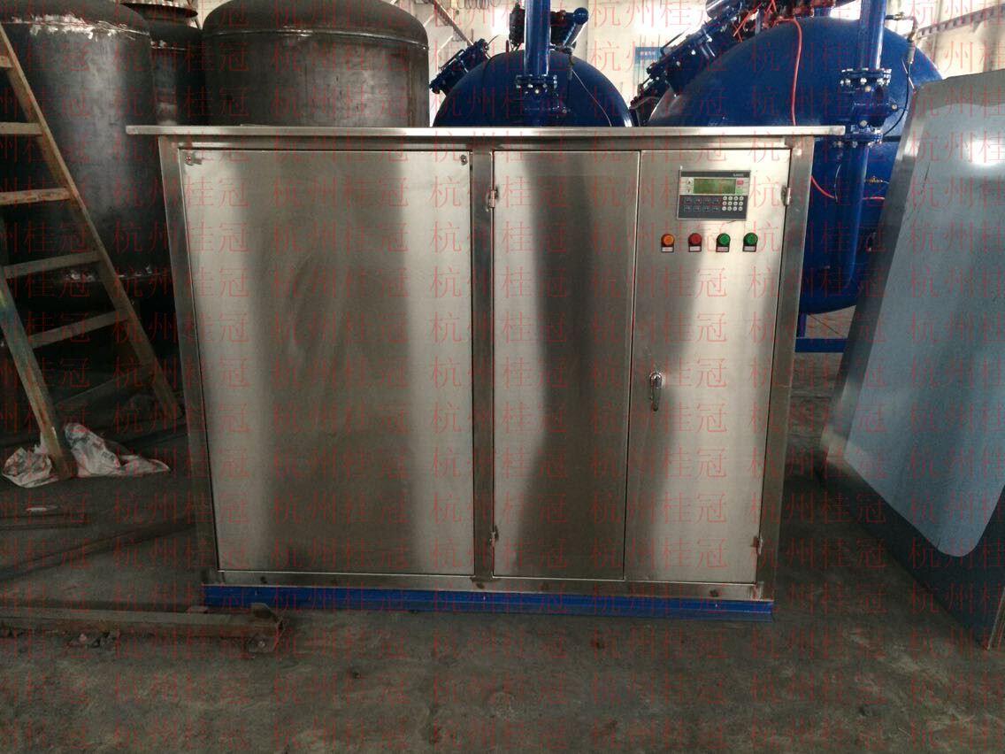 不锈钢冷凝器在线清洗装置