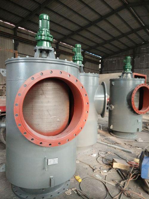 直通式电动滤水器